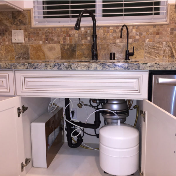 Omica Reverse Osmosis RO Water Filtration System Home Installation Under Counter Sink Clean Easy Set up
