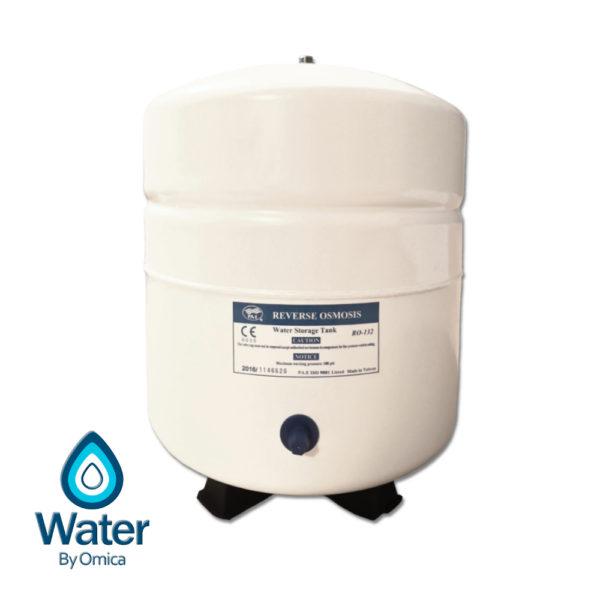 Omica Organics RO Water Filter - Steel Storage Tank Reservoir v2