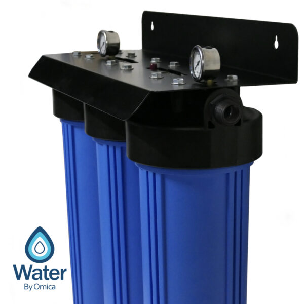 Water By Omica 3-Stage Water Filter System   Side View