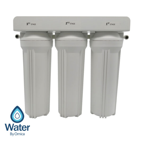 Water By Omica 3-Stage Drinking Water Filter System